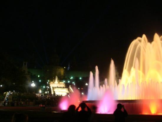 The Magic Fountain ภาพถ่าย