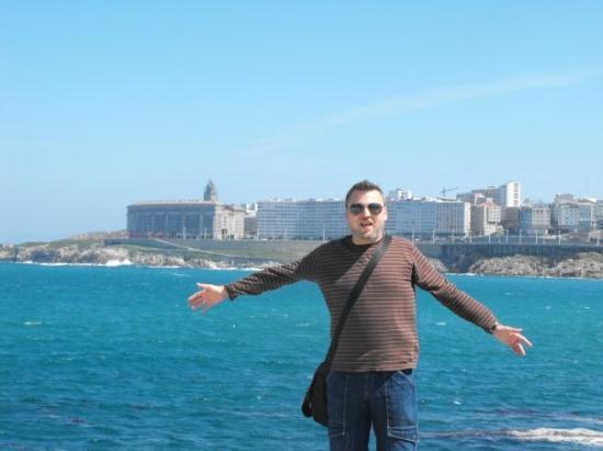 ลาโครูนา, สเปน: Coruña, Paseo de la playa