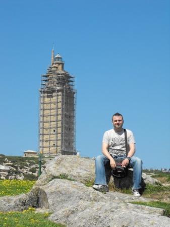 ลาโครูนา, สเปน: Coruña, torre de Hercules