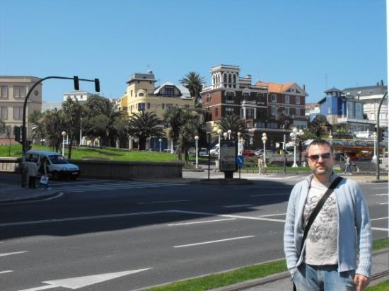 ลาโครูนา, สเปน: Coruña, Playa de Riazor