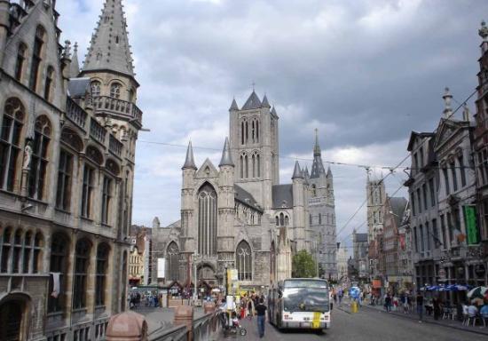 Ghent, เบลเยียม: Las tres torres