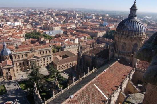 New Cathedral (Catedral Nueva): Vista de la Catedral Nueva y la Plaza de Anaya