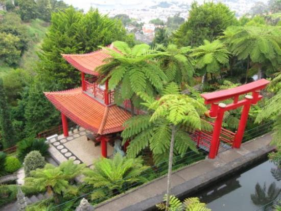 ฟุงชาล, โปรตุเกส: Japanese garden