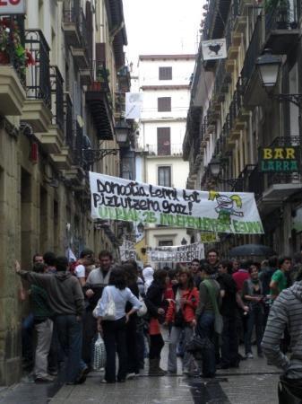 San Sebastian - Calle Parte vieja