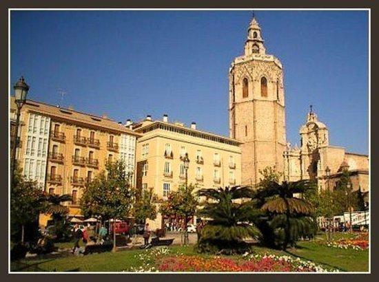 Barrio del Carmen : plaza de la reina