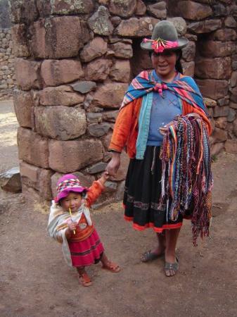 Pisac, เปรู: W ruinach miasta Pisaq (Peru)