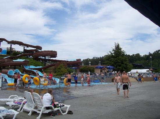 Birch Bay Waterslides: Side view