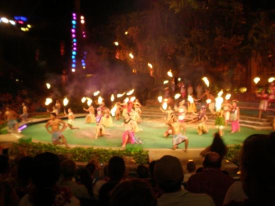 Polynesian Cultural Center: the show after the luau