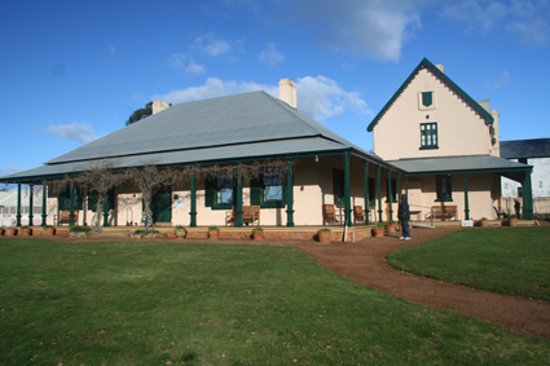 Hadspen, أستراليا: Entally House - main building