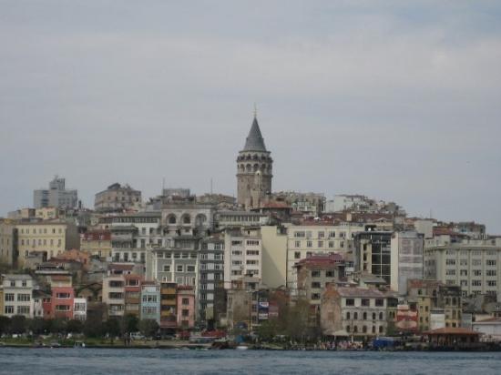 อิสตันบูล, ตุรกี: Galata Tower.