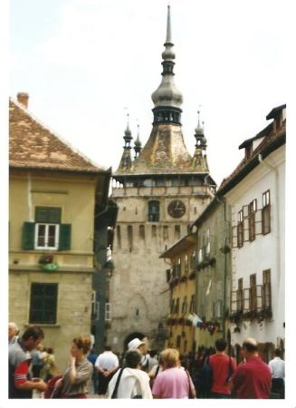 romania 2003 - sighisoara : citta' natale di Vlad Tepes (Dracula)