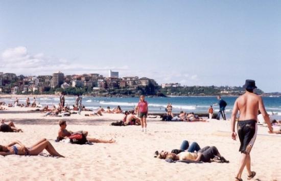 Manly Beach, Australia 2000