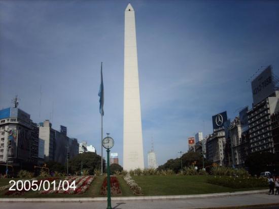 El Obelisco: Obelisco
