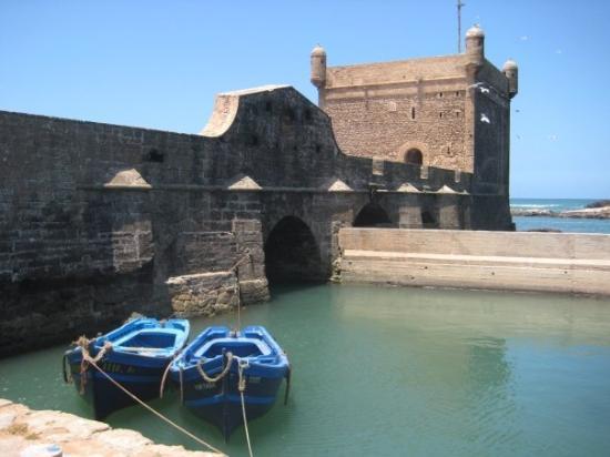 Essaouira Fishing Port ภาพถ่าย