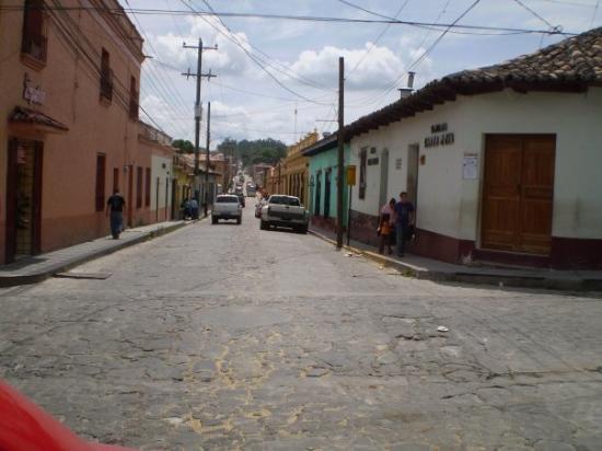 Santa Rosa de Copan, Honduras: por las calles de Santa Rosa de Copán