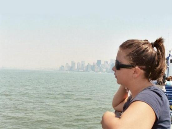 OnBoard New York Tours: My beautiful daughter in New York, the best vacation we ever went on.