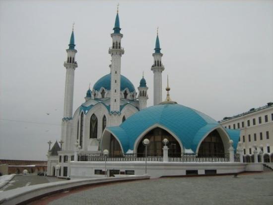 คาซันเคร็มลิน: Kazan - Moschea Qol-Şärif (UNESCO World Heritage)