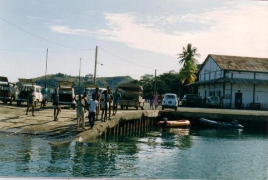 นอสซีเบ, มาดากัสการ์: porto di Nosy Be.