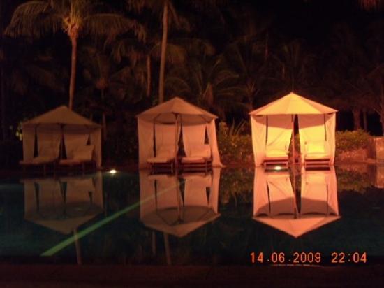 บินตัน, อินโดนีเซีย: The White Theme.... from the pool side