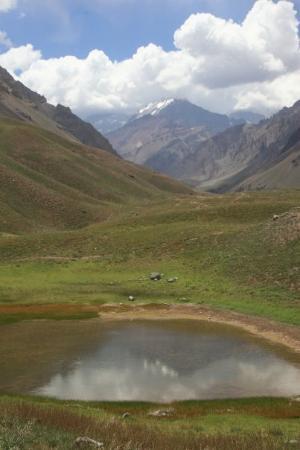 Parque Provincial Aconcagua: Laguna Espejo