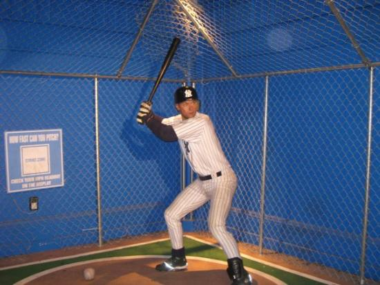 Madame Tussauds New York: And while Baseball is not my favorite sport, this is NYC and what would the city be without the