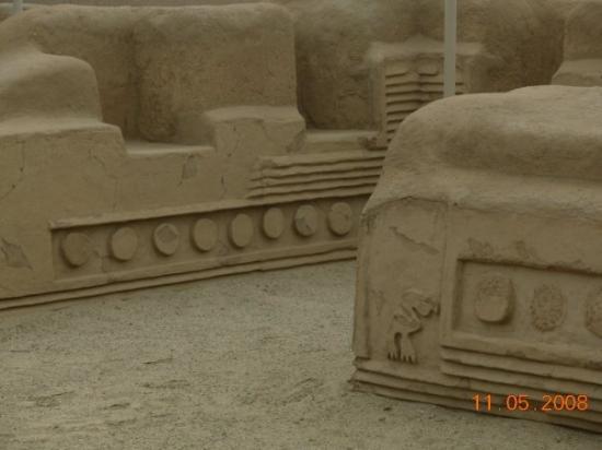 Trujillo, Perú: Chan Chan- ciudad de barro + grande del mundo