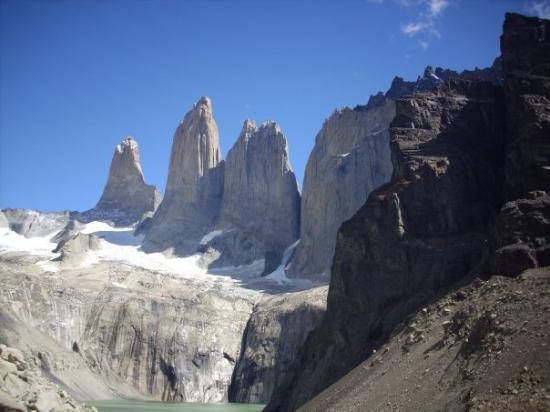 Torres del Paine National Park, ชิลี: TORRE NORTE, CENTRAL Y SUR..!!!!