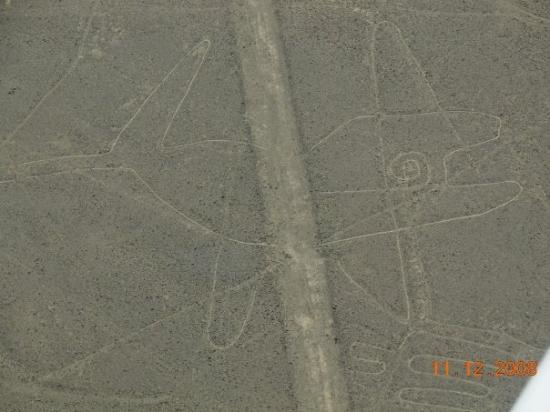 """Nazca, Peru: """"Ballena""""- Lineas de Nasca"""