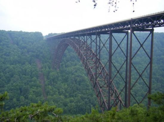 Fayetteville, Virginia Occidental: New River Gorge Bridge, WV