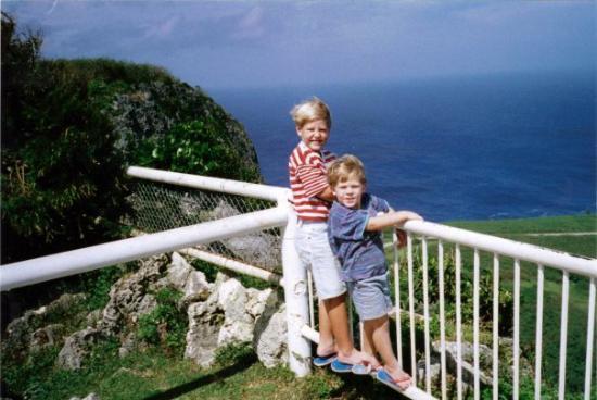 ซายแพน, หมู่เกาะมาเรียนา: Bonzai Cliff