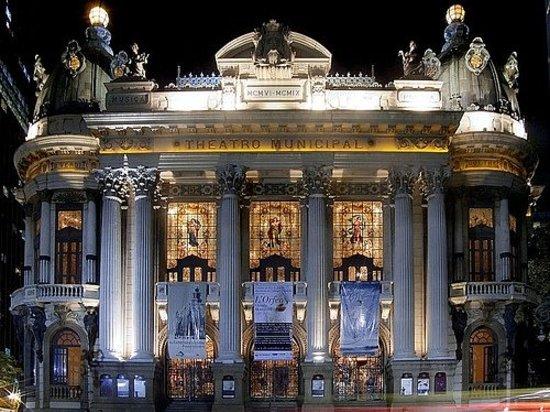 Visite a Atração Theatro Municipal do Rio de Janeiro