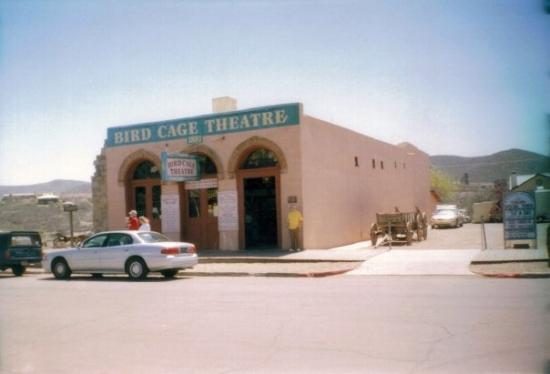 Bird Cage Theatre: The Bird Cage, Tombstone