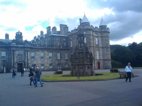 The Palace Of Holyroodhouse, The Queen stays here on her trips to Scotland