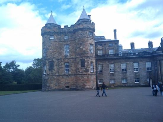 The Palace Of Holyroodhouse, Mary Queen of Scots lived here.