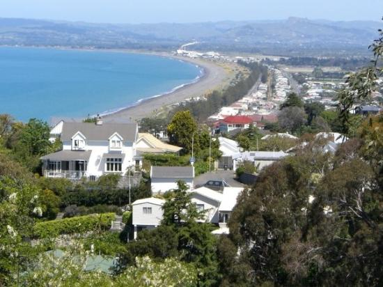 Bluff Hill in Napier