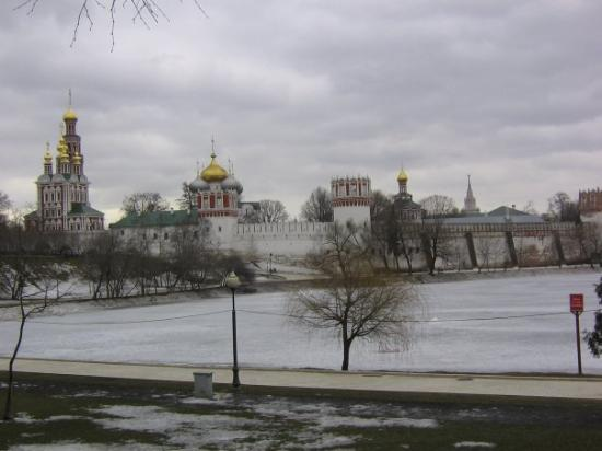 Novodevichy (New Maiden) Convent and Cemetery: monastère novodievitch