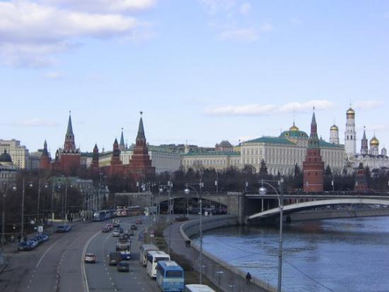 มอสโควเคร็มลิน: Le Kremlin !