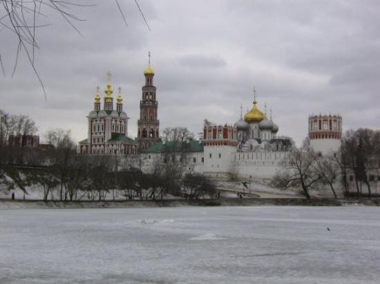 Novodevichy (New Maiden) Convent and Cemetery: monastere
