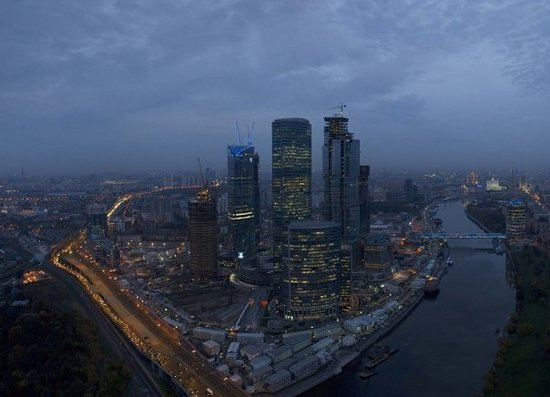 Observation Deck in the Moscow-City