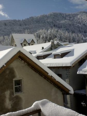 Ilanz, สวิตเซอร์แลนด์: view from my flat 2