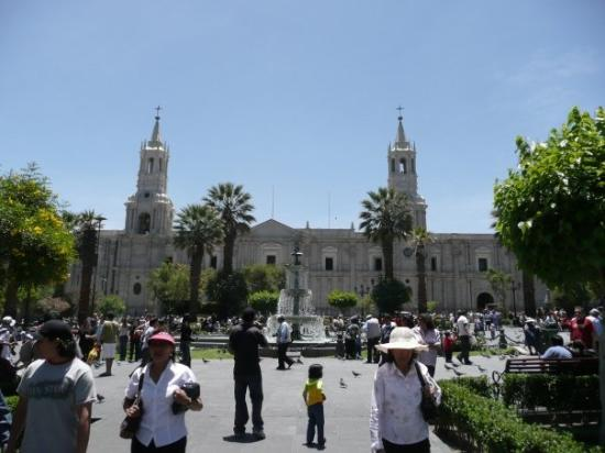 Museo de la Catedral de Arequipa: Cathédrale d'Aréquipe