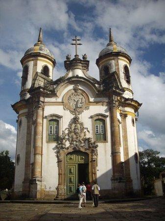 Em Ouro Preto a MARAVILHOSA São Francisco de Assis. Boas Lembranças... :)