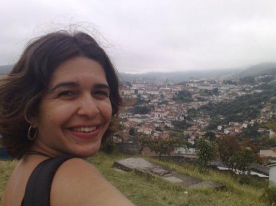 Ouro Preto: No segundo dia de caminhadas pesadas pelas Ladeiras, ao lado da Igraja da Conceição, em Ouro Pre
