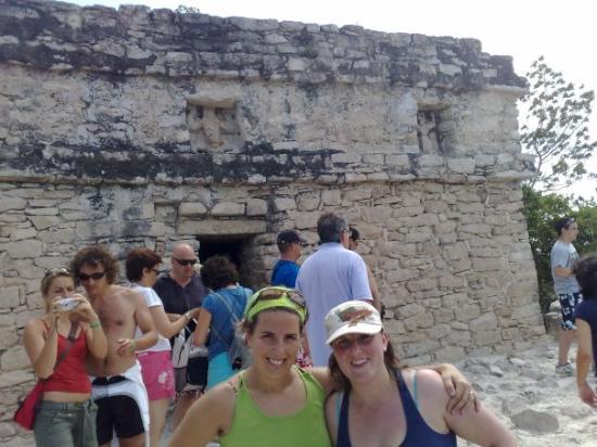 Coba, เม็กซิโก: en lo alto de la pirámide de kobá.