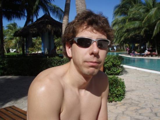 Paradisus Varadero Resort & Spa: Jer enjoying the sun!