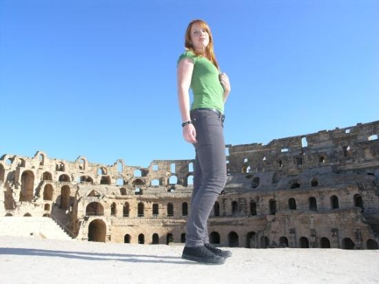 El Jem Amphitheatre: Tunesia