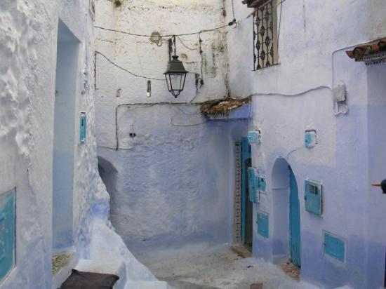 เมือง Chefchaouen ภาพถ่าย