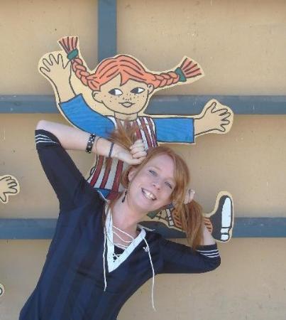 Astrid Lindgren's World: Pipi @ Astrid Lindgren museum Sweden