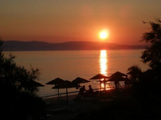 Naxos (Stadt), Griechenland: Marangas, Naxos