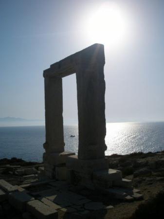 Naxos (Stadt), Griechenland: Portara, Naxos